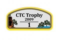 CTC Trophy 2009 Wagenaufkleber