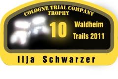 CTC Trophy 2011 wagenaufkleber