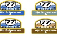 CTC Trophy Wagenaufkleber Entwürfe