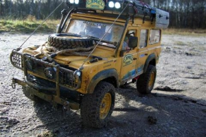 Land Rover 110 Camel Trophy 97 Mongolia