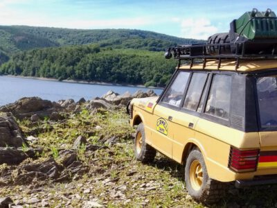 "Der ""Peters Camel Range"" -Range  Rover 1987 Madagaskar in Norwegen"