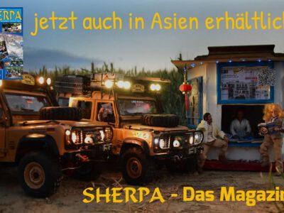 SHERPA – Das Magazin  …jetzt auch in ASIEN