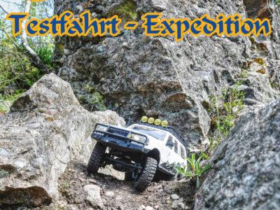 Expedition und Test des EAZYRC Patriot von D-Power / FMS